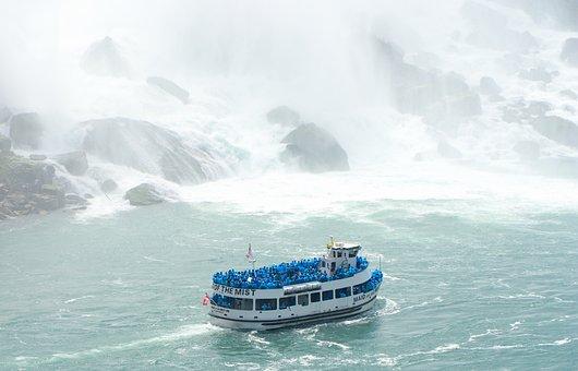 Boat, Ship, Water, Mist, Tourism, Tourists