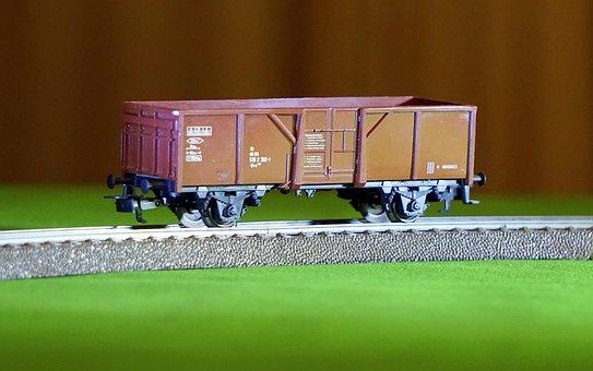 Wagon, Train, Goods, Railway, Transport, Via, Trains
