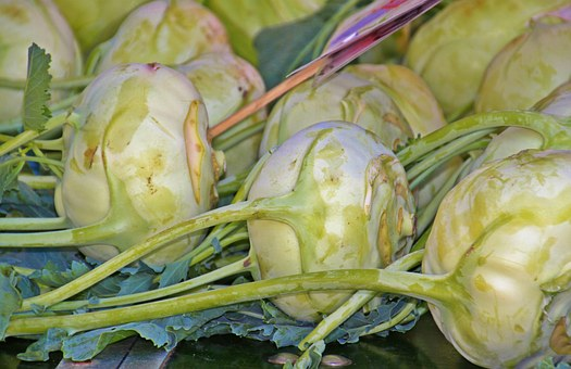Kohlrabi, Kohl, Brassica Vegetables, Vegetables, Food