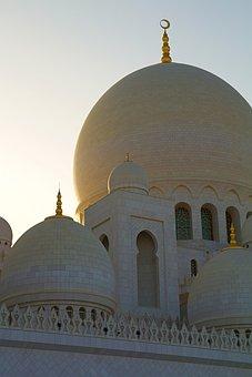 Abu Dhabi, Moshe, Zayed, Sheikh, Architecture, Islam