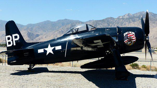 Aircraft, America, Palm Springs, Air, Transport, War