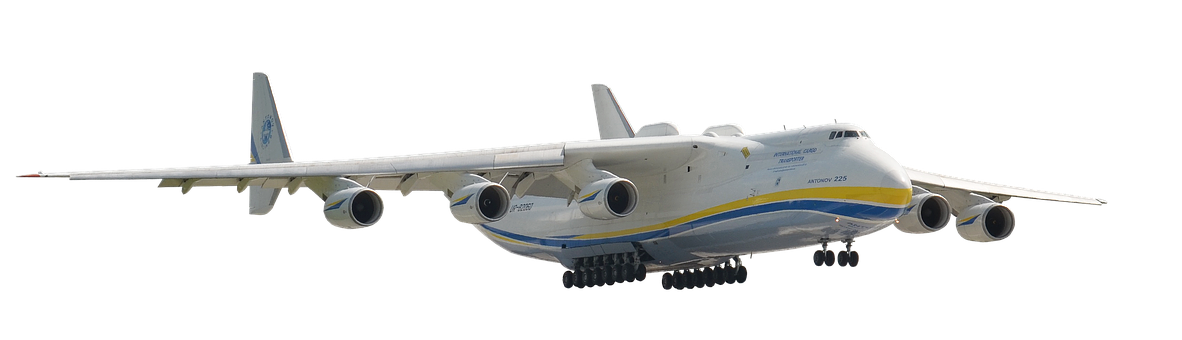 Airport, Antonov, Aircraft, Isolated, Flying