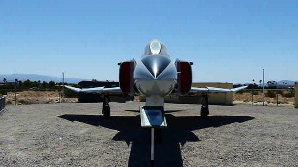 Aircraft, America, Palm Springs, Museum, War, Reaction