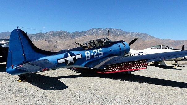 Aircraft, America, Museum, Palm Springs, Wings, Air
