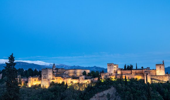 Alhambra, Granada, Spain, History, Monuments, Andalusia