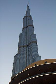 Dubai, Burj Khalifa, Skyscraper, Architecture, Uae