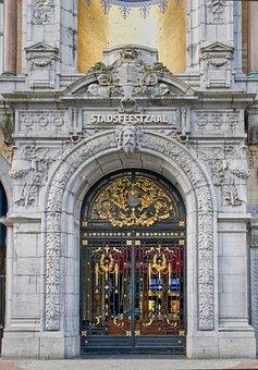 Input, Gate, Door, Old Door, Portal, Architecture