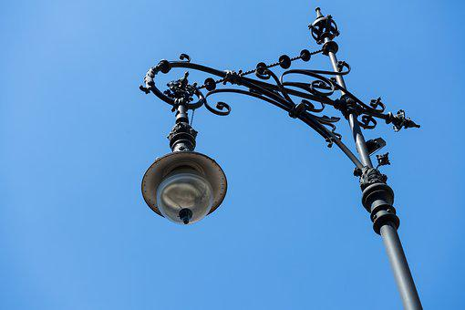 Lantern, Iron, Metal, Art, Lighting, Old, Street Lamp