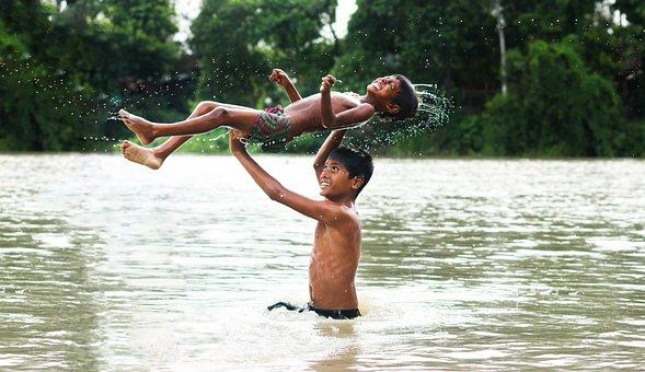 Bangladesh, River, Enjoying, Asia, Water, Tourism