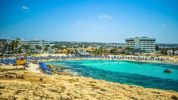 Cyprus, Ayia Napa, Beach, Destination, Island