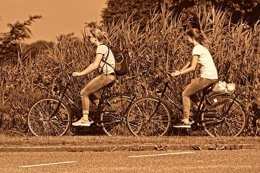 Person, Woman, Bicycle, Cycling, Women Cycling, Road