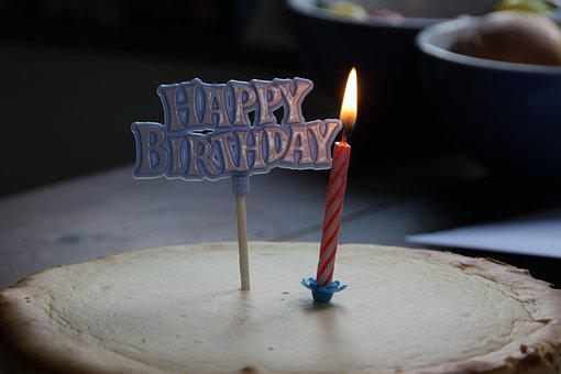 Birthday, Greeting, Birthday Cake, Celebrate, Candle