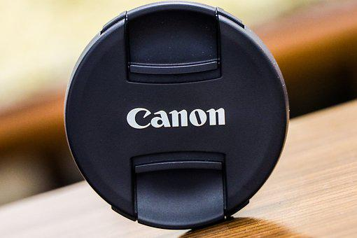 Canon, Cap, Blurry Background