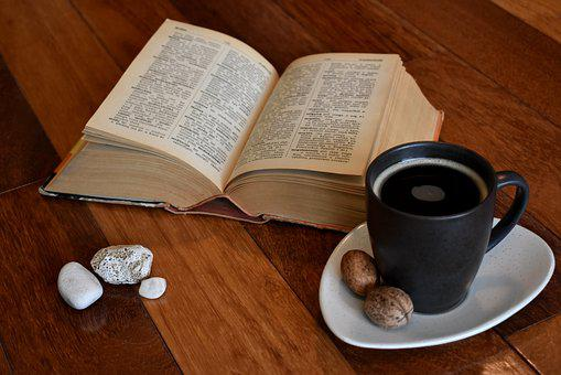Book, Old Book, Reading, Coffee, Mug, Cup, Paper