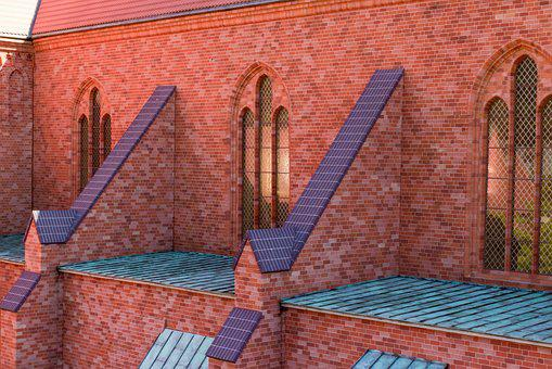 Building, Brick, Architecture, Wall, The Cathedral