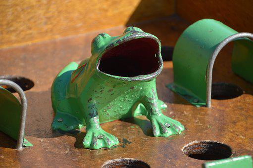 Game Frog, Ancient Game, Pushover, Game, Play, Child