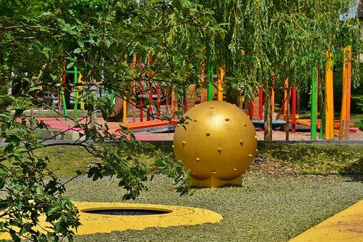 Playground, Children, Play, Children's Playground