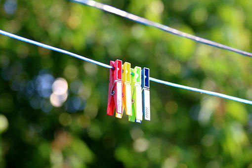 Funny, Clothesline, Drying, Hang, Bokeh