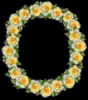 Frame, Border, Roses, Floral, Decoration