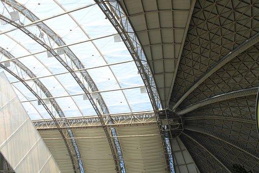 Tropical Island, Dome, Modern Architecture
