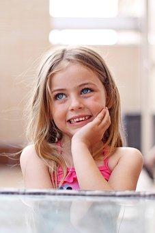 Children, Smile, Eyes, Happy, Smiling, Joy