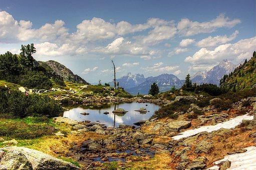 Gasselsee, Schladming, Landscape, Nature, Alpine