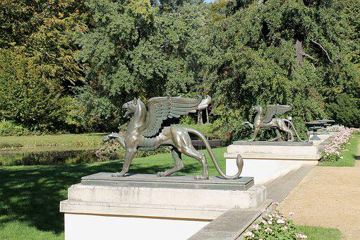 Griffin, Mythical Creatures, Sculpture