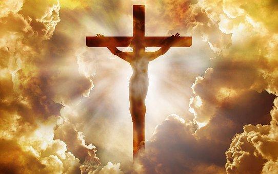 Jesus, God, Holy Spirit, Christian, Gospel, Clouds