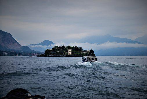 Lago Maggiore, Boats, The Island Mother