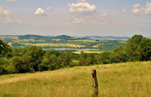 Landscape, View, Nature, Panorama, Meadow, Summer