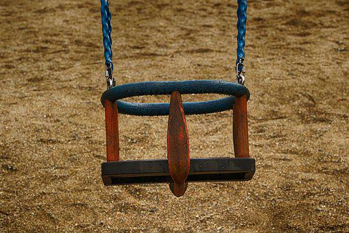 Swing, Playground, Outdoor, Play