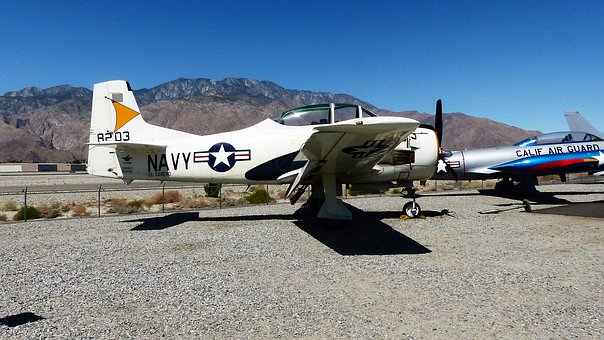 Aircraft, America, Palm Springs, Museum, Propeller