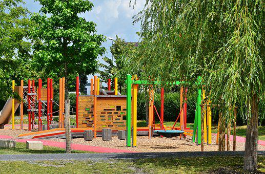 Playground, Children, Play, Children's Playground