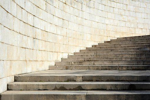 Stone Stairs, Medieval, Architecture, Unesco, Wall