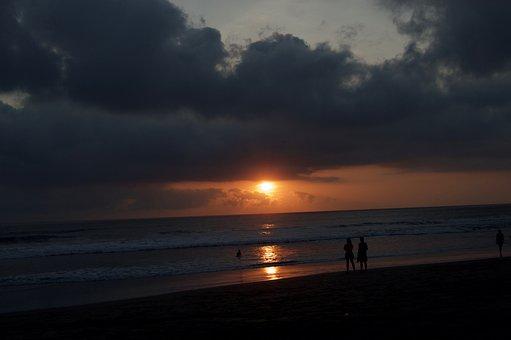 Kuta, Bali, Indonesia, Sun