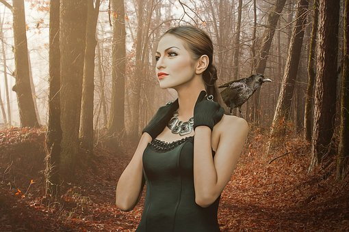 Gothic, Fantasy, Dark, Woman, Girl, Young, Beauty, Lady