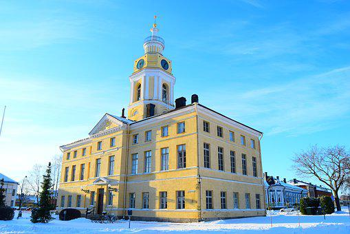Yellow Building, Finland, Council House