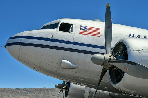 Airplane, Vintage, Wenatchee, Wenatchee Valley