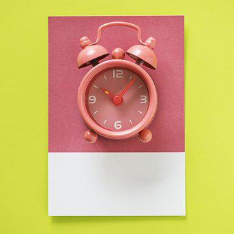 Alarm, Appointment, Arrow, Background, Clock, Colorful