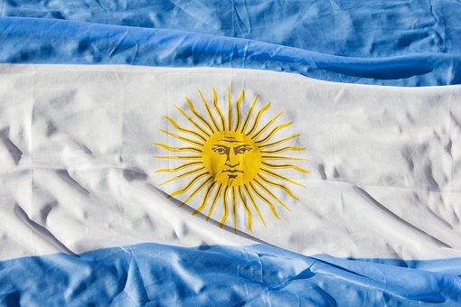 Argentina Flag, Argentina, World, Wave, Celeste, Nation
