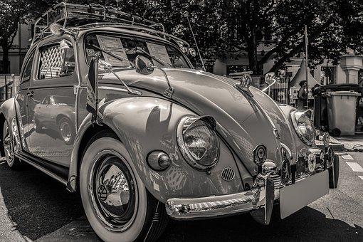 Vw, Auto, Vw Beetle, Oldtimer, Classic, Beetle