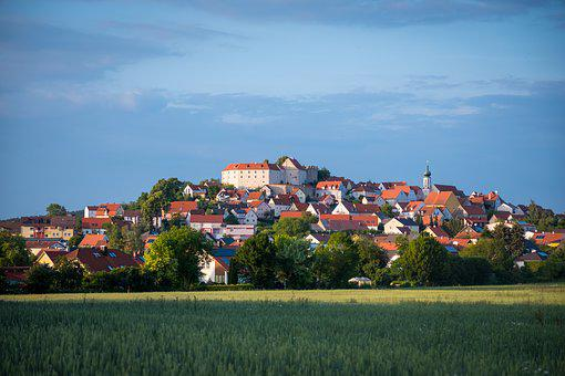 Village, Upper Palatinate, Lupburg, Bavaria, Castle