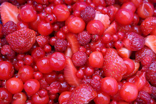 Berries, Red, Summer, Berry Red, Nature, Fruits