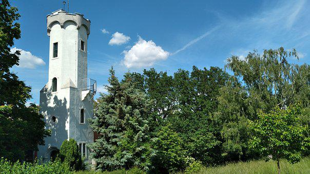 Sörnewitz, Observation Tower, Boselfelsen, Landscape