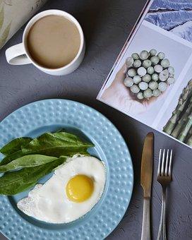 Food, Breakfast, Eggs, Healthy, Meal, Fresh, Plate
