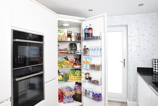 Fridge, Fridge Door, Refrigerator, Open Door, Cold