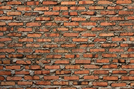 Brickwall, Brickwork, Rough, Construction, Building