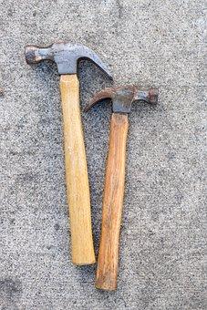 Hammer, Tool, Construction, Carpentry