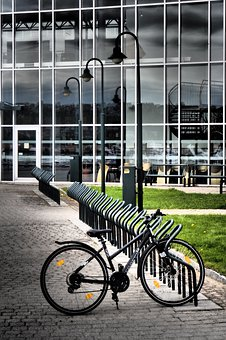 Bike, Bicycle, City, Transport, Cycling, Norway