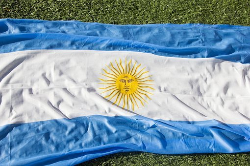 Argentina Flag, World, Day, Celeste, Flag, Nation